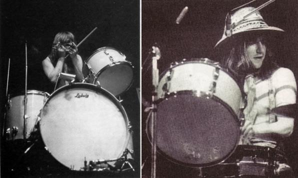 Oh oui, causons jazz (Ziggy) Wyatt-drums